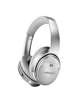 BOSE QC35 II 2 QuietComfort Wireless Acoustic Noise-Canceling Headphones Silver