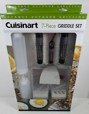 Cuisinart 7 Piece Griddle Set Gourmet Outdoor Grilling and Cooking Products