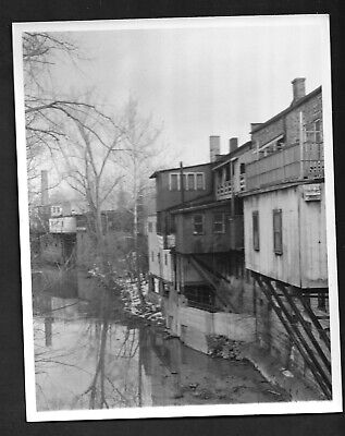 Press Photograph 1964 Berea OH Riverside Stores Rear View  (Riverside Stores)