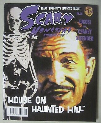 SCARY MONSTERS MAGAZINE #65 HORROR FILMS HOUSE ON HAUNTED HILL VINCENT PRICE