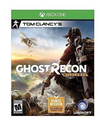 Tom Clancy S Ghost Recon Wildlands   Xbox One  Brand New  Sealed   Bonus Mission