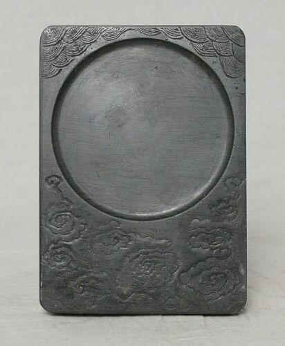 Chinese  Brown  Ink  Stone    M3630