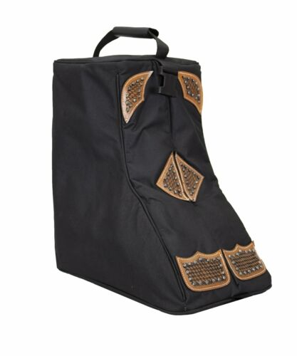 Tahoe Tack Durango Premium Padded Waterproof Nylon Western Boot Carry Bag Case