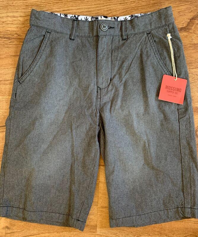 NWT Boys MOSSIMO Casual Shorts, Size 12, Gray New!