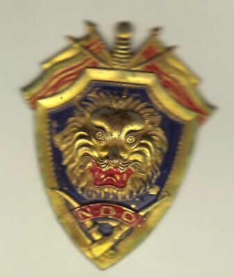 French Indochina War Badge Police Commandos Vietnam N.D.D., Locally Made
