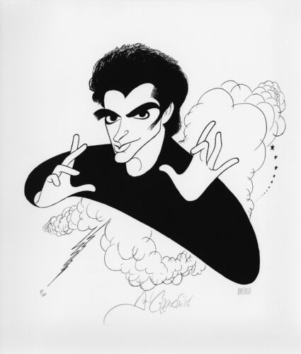 David Copperfield SALE! DOUBLE-SIGNED Ltd Edition Lithograph by Al Hirschfeld