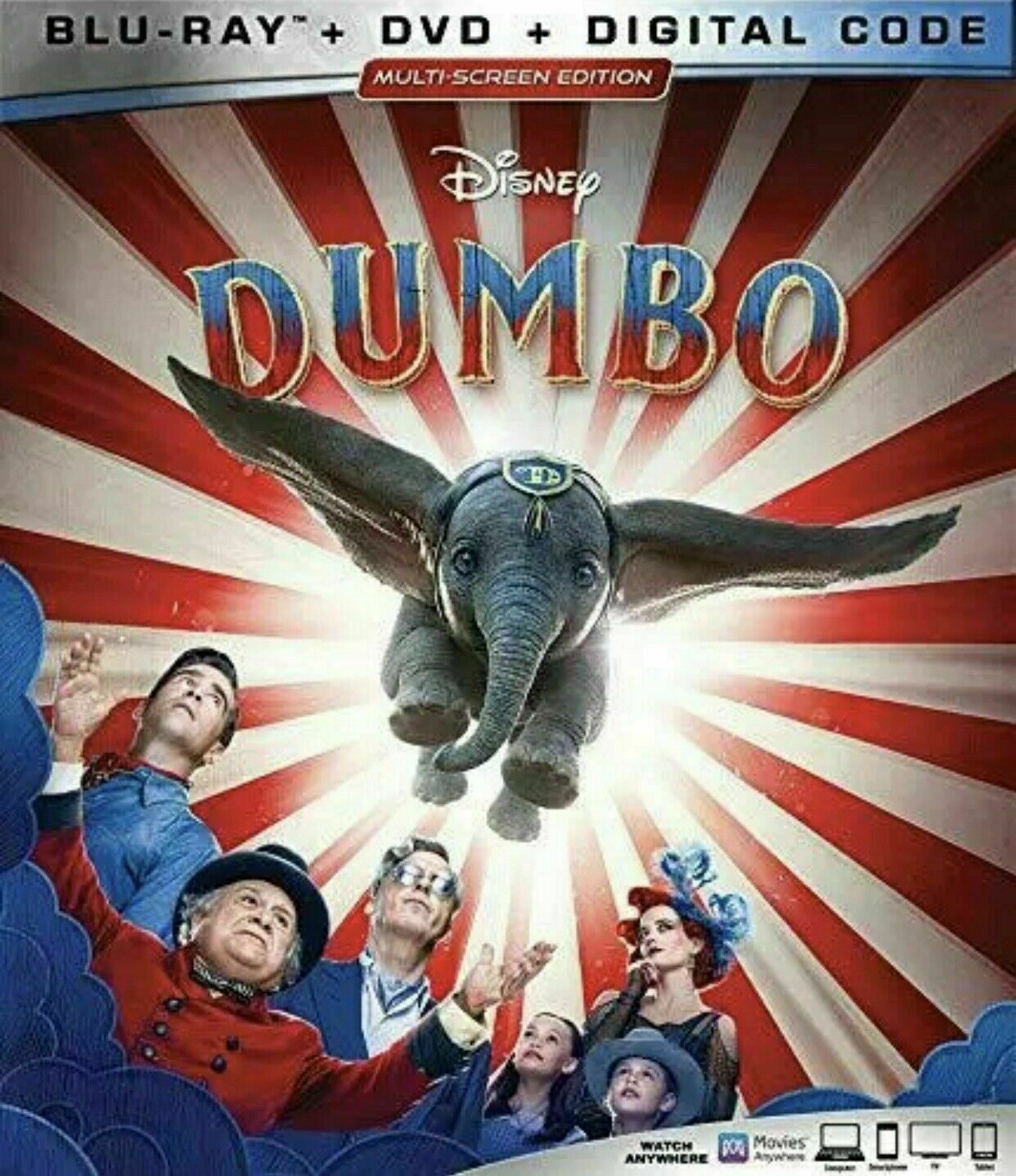 Dumbo  w/Slipcover NEW DISNEY