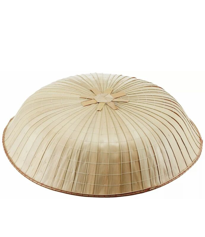 NEW Japan NInja Samurai Hat Edo Cosplay Natural Bamboo SANDOGASA USA Seller