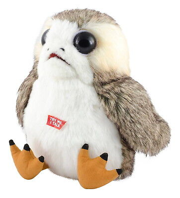 Porg Star Wars Talking Life Size 11  Inch Stuffed Animal Authentic The Last Jedi