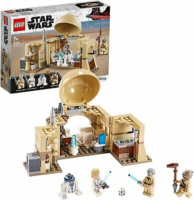 LEGO Star Wars Obi-Wan's Hut Building Set Princess Leia Hologram Minifigures Fun