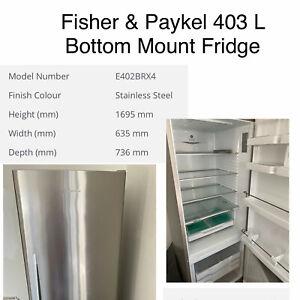 Fisher & Paykel 403L Bottom Mounted Fridge