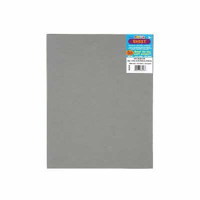 Darice Foamies Foam Sheet Modern Grey 2mm thick 9 x 12 inches (10-Pack) 106-5379