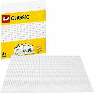 LEGO 11010 Classic 32x32 White Stud Baseplate The Perfect Base To Start Building