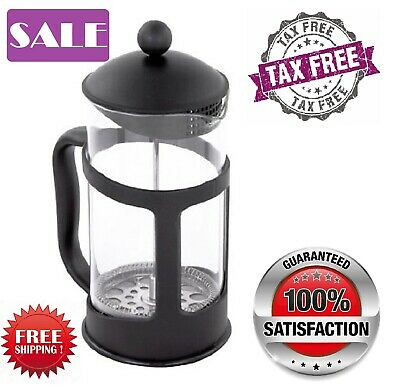 Single Cup French Press 11 Oz Coffee & Tea Maker W / Stainless Steel Best Filter