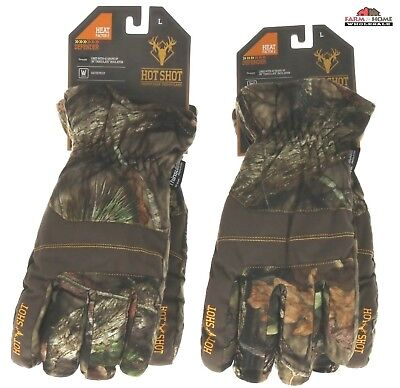 fa785427efd15 Hot Shot Mossy Oak Break Up Country Hunting Gloves ~ Large ~ New