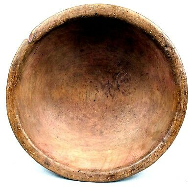 Art African - Antique Dish Wooden Dense - Agni Anyi - Coin * Custom Length - 25