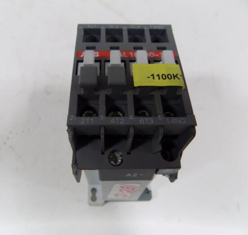 ABB MOTOR STARTER 110/120VAC COIL AL 16-30-10