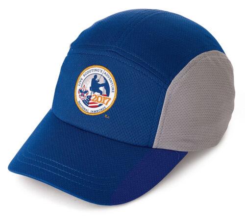 Boy Scout National Jamboree Headsweats Runners Coolmax Adjustable Hat Cap Adult