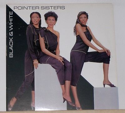 The Pointer Sisters - Black and White - Original 1981 LP Record Album Black And White Album
