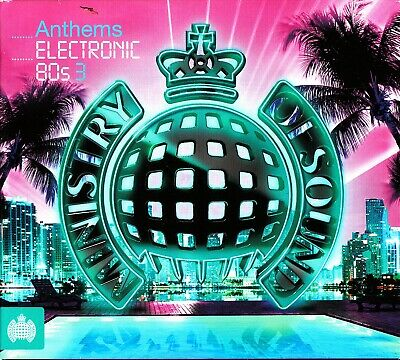 MINISTRY OF SOUND-Electronic 80s -Vol.3 (3 CD) The Best Of Synth (David Bowie)