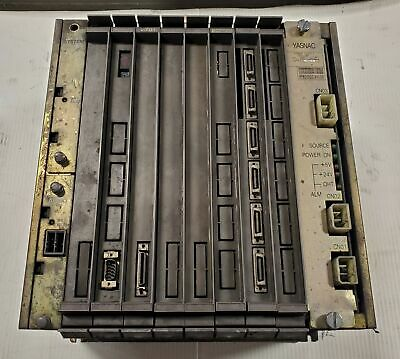 Yasnac Cps-18f Controll Rack Chassis Jznc-mrk04-1e Control Panel