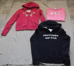 Girls Abercrombie Kids Hoodies Size XL + Shirt Size L