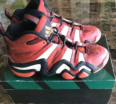 Adidas Crazy 8 G20784 Red Black White Men Basketball Shoes  Sz 8 US/ 41.1/3 EUR