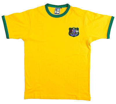 Australia National Rugby T Shirt Sizes S-XXXL Embroidered Logo Australia Home Rugby Shirt