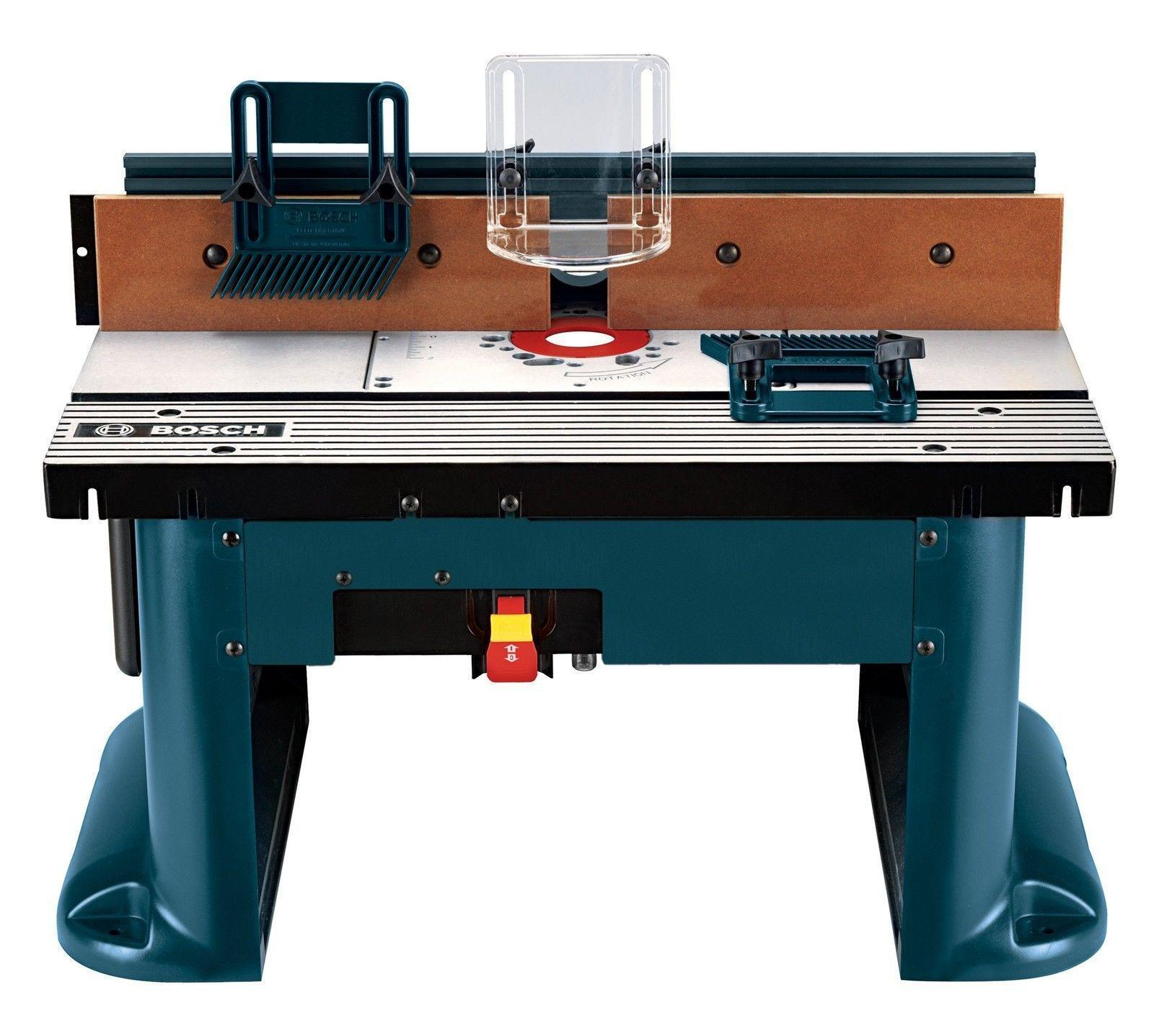 Power router tables ebay 000346353679 bosch ra1181 benchtop router table greentooth Choice Image