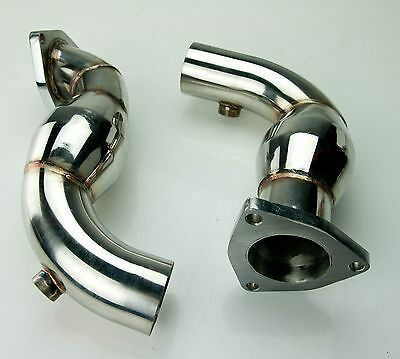 EXHAUST CAT DELETE REMOVAL DOWNPIPE FOR FORD MONDEO MK3 3.0 V6 ST220