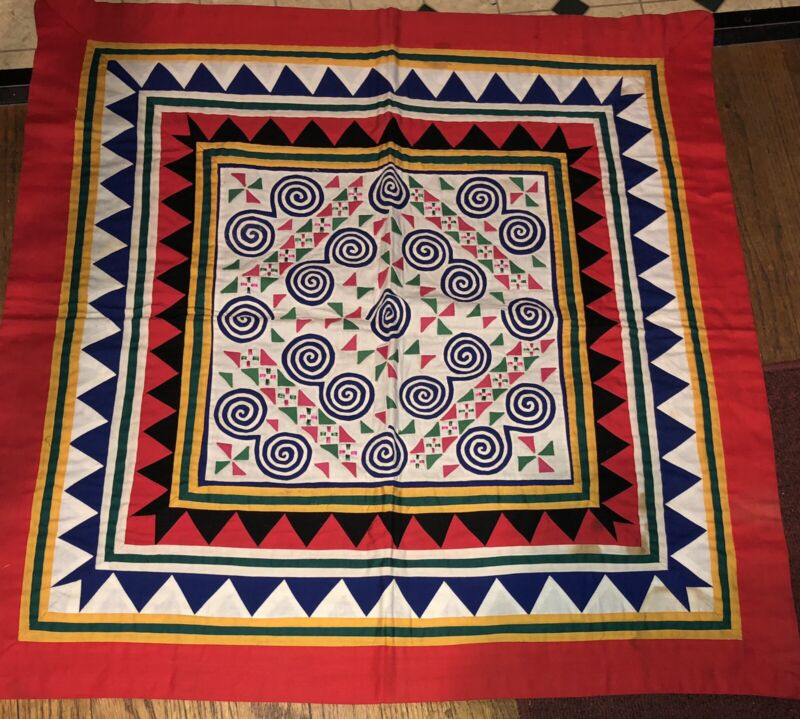 """seminole? Table Cover Patchwork 28"""""""