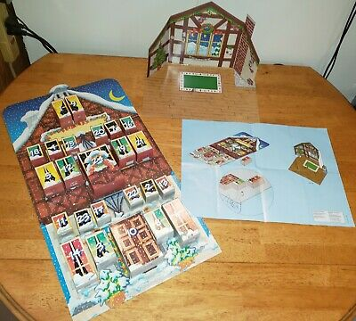 1997 Rare Playmobil Advent Calendar 3974 Christmas Countdown Scene 100% Complete