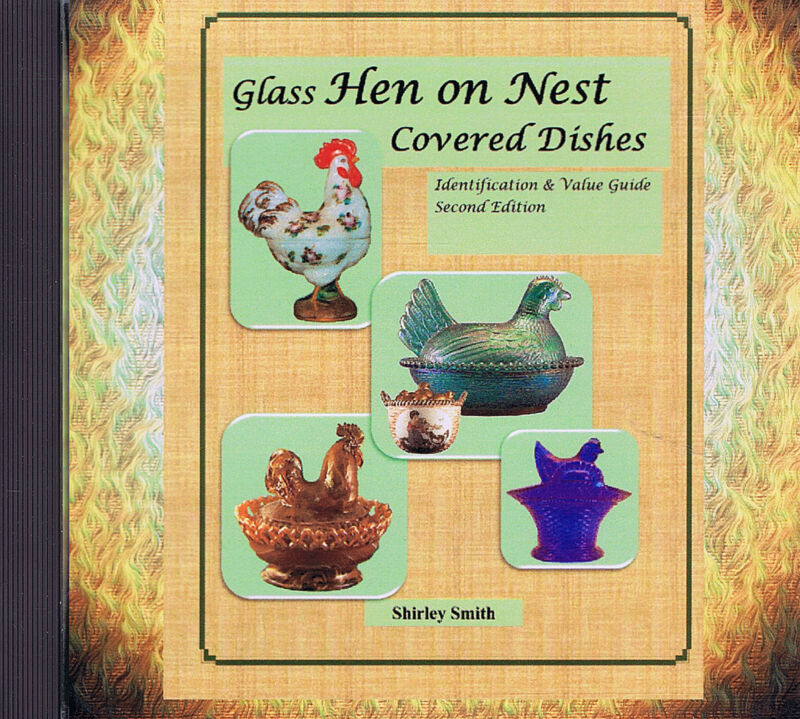 Glass Hen on Nest Covered Dishes - 2nd Edition - Shirley Smith - DVD