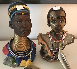 FIGURINES AFRICAINES DE COLLECTION
