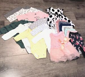 Lot of baby girl cloth 0-3 month