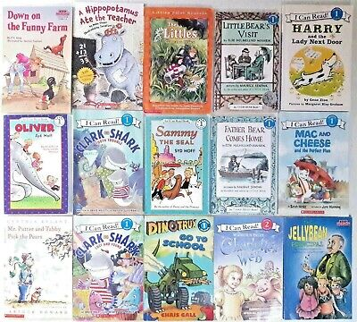 Lot 15 2ND GRADE Classic Learn-to-Read Books HELLO~I CAN~STEP INTO AR Level-2