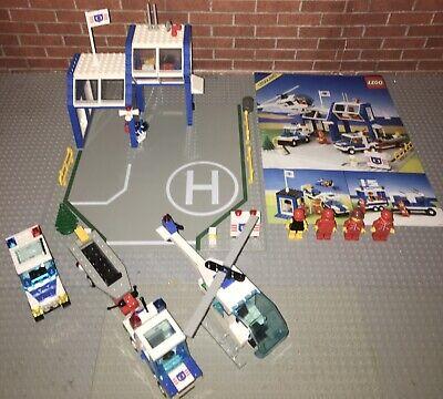 Lego 6387 System Coastal Rescue Base Complete Set Manual Coast Guard