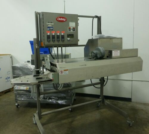 """DOBOY CBS Continuous Band Bag Sealing Machine 1/4""""W Seal"""
