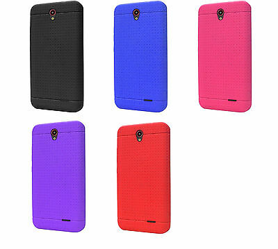 Soft Flexi Silicone Skin Case Phone Cover For ZTE Midnight Pro LTE Flexie Soft Case