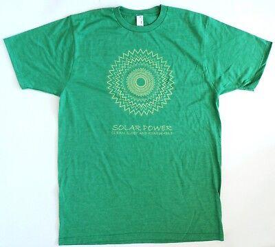 Anvil 450 Sustainable Men's Short Sleeve T-Shirt Wind Solar Power Heather Green - Anvil Short Sleeve T-shirt