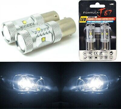 LED Light 30W 1156 White 5000K Two Bulbs Back Up Reverse Replace Upgrade Lamp OE
