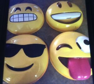 "Brand new Emoji masks $5/each it's a great ""group"" costume idea"