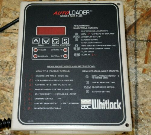 AEC Whitlock Auto Loader Control Series One 220 Volt, New