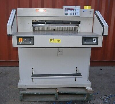 Triumph-Ideal 7228-95 EC 3 Guillotine Paper Cutter printing industry Digital Prg