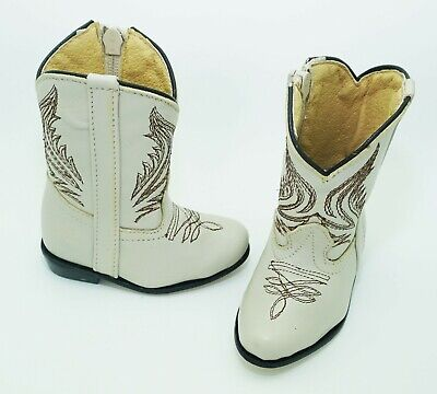 Baby Infant Real Leather Unisex Western Boots size 2](Baby Western Boots)