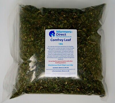 1KG COMFREY LEAF EQUINE HORSE HERB FOR MUSCLE BONE JOINT SUPPORT & MOBILITY