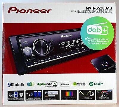Pioneer MVH-S520DAB inkl.DAB-Antenne, DAB/DAB+Tuner/Bluetooth/MP3/USB/AUX