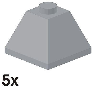 5x NEUE Außen-Eckdachst. 45° 2x2 neu-hellgrau 4216250 (3045)  437