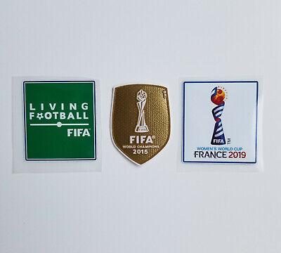 USWNT FIFA 2015 World Cup Champion France Soccer Jersey Patch USA Alex Morgan