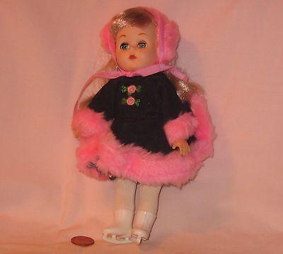 Vintage 1985 Vogue Ice Skating Doll With Sleepy Eyes
